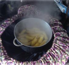"Heat Retaining Cooking Bags ""Wonderfulbag"""